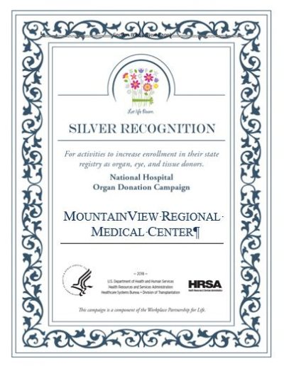Hospital Silver - MountainView